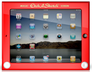 etch-a-sketch-iPad-Case holiday gift guide