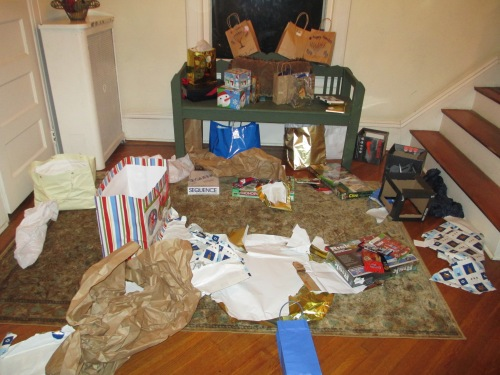 The present aftermath
