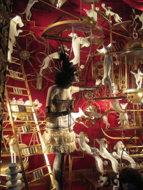 Bergdorff Goodman NYC holiday windows