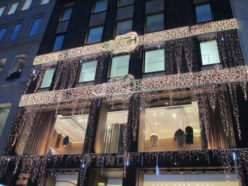 Fendi NY holiday windows