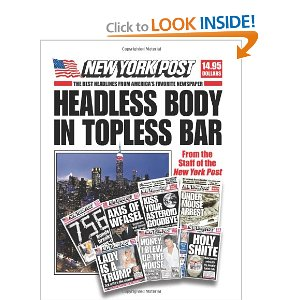 nypost hedlines coffee table book candy gift guide