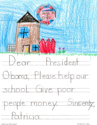 mail to the chief kid letters to obama