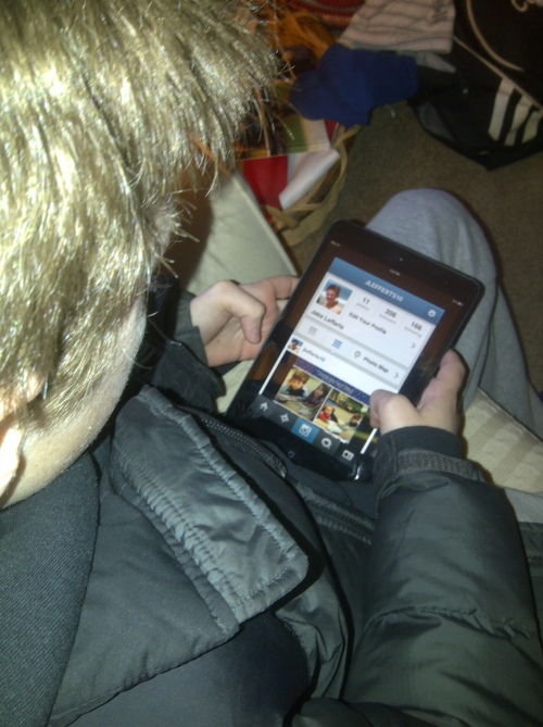 kids obsessed with instagram