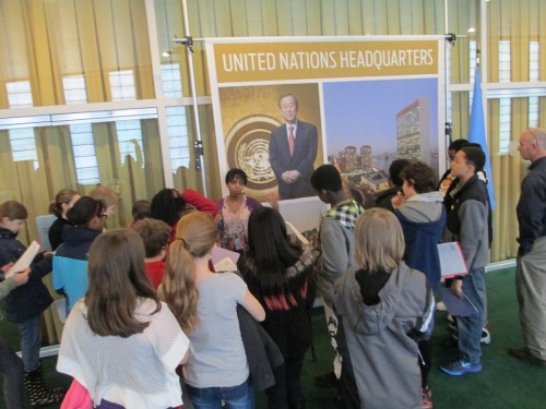 Field trip to United Nations