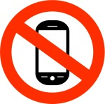 cell phone ban graphic/ carpoolcandy.com