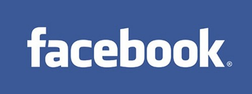 facebook word logo
