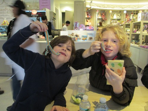 Sugar & Plumm NYC with kids