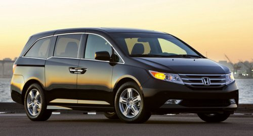 Honda Odyssey living out of my minivan