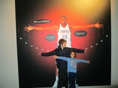 basketball hall of fame with kids carpoolcandy.com