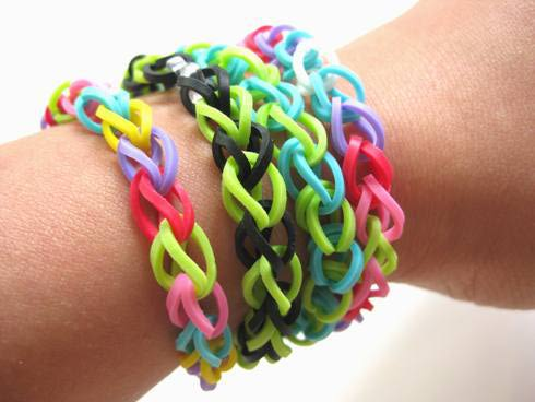 rainbow loom bracelets on carpoolcandy.com