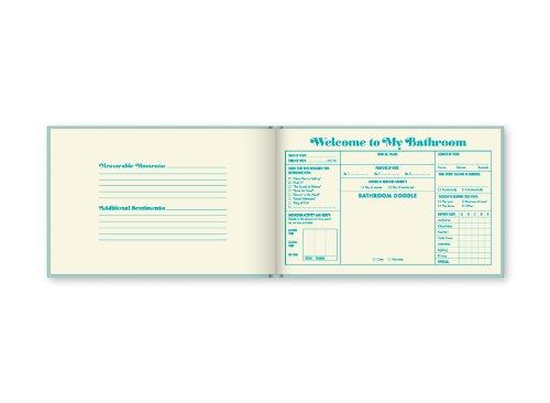 Bathroom guest book on carpoolcandy.com
