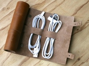 Grommet cord organizer on carpoolcandy.com