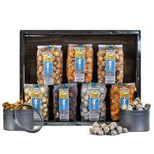 Gary Poppions gourmet popcorn on carpoolcandy.com