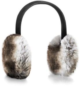Henri Bendel faux fur earmuffs on carpoolcandy.com