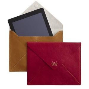 Mark and Graham leather ipad case on carpoolcandy.com