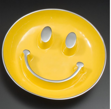 Smiley face snack bowl from Shed.com on carpoolcandy.com