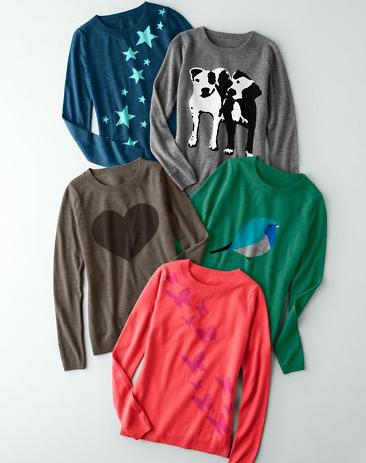 Fun sweater from GarnetHill.com on carpoolcandy.com