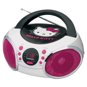 hello kitty boombox on carpoolcandy.com