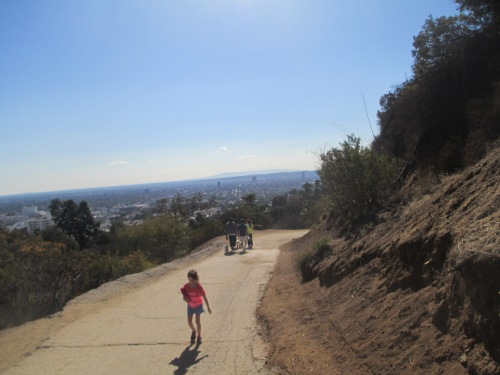 Hiking Runyon Canyon with kids on carpoolcandy.com