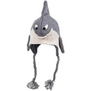 Nirvanna shark hat for kids on carpoolcandy.com