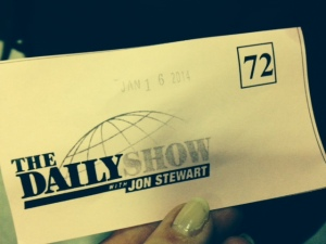 daily show jon stewart ticket on carpoolcandy.com