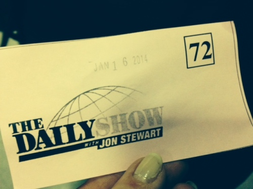 daily show jon stewart ticket on carpoolcandy.com