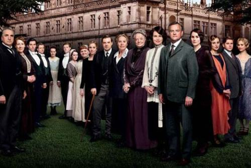 Downton Abbey cast photo on carpoolcandy.com
