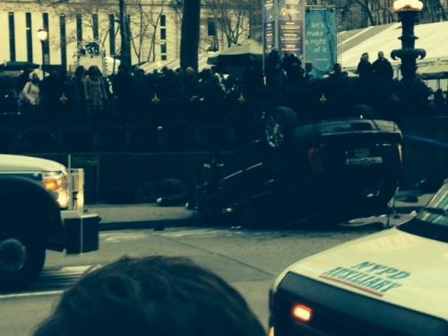 NYC fatal crash photo on carpool candy.com