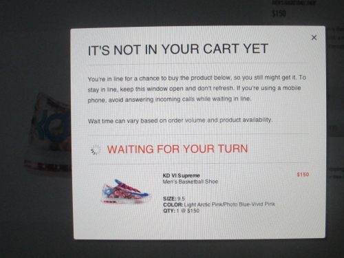 buying Nike sneakers on carpool candy.com