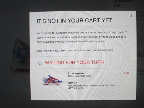 buying Nike sneakers on carpool candy.com