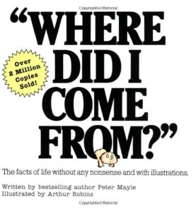 where did i come from book cover