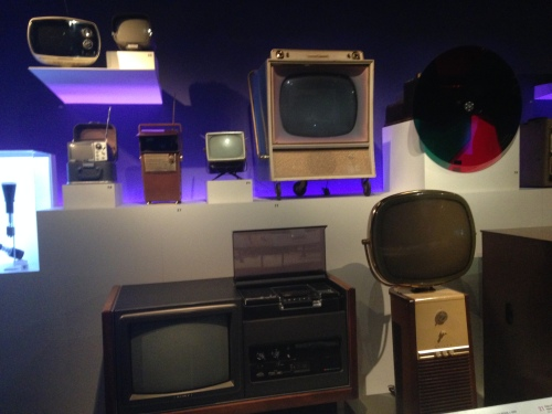 TV collection at Museum of Moving Image on carpoolcandy.com