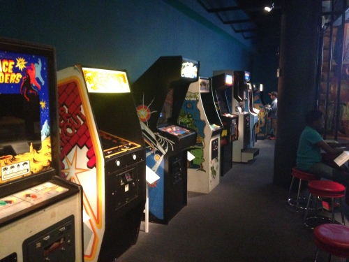 Video game collection at Museum of Moving Image on carpoolcandy.com