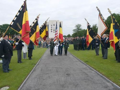 AOMDA American vet ceremonies in Belgium on carpoolcandy.com