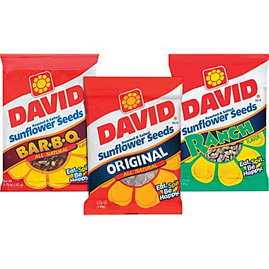 David's sunflower seeds on carpoolcandy.com
