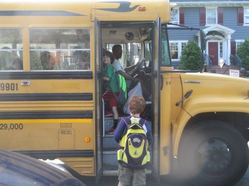 bus stop kids on carpoolcandy.com
