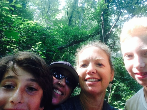 Hiking selfie on carpoolcandy.com