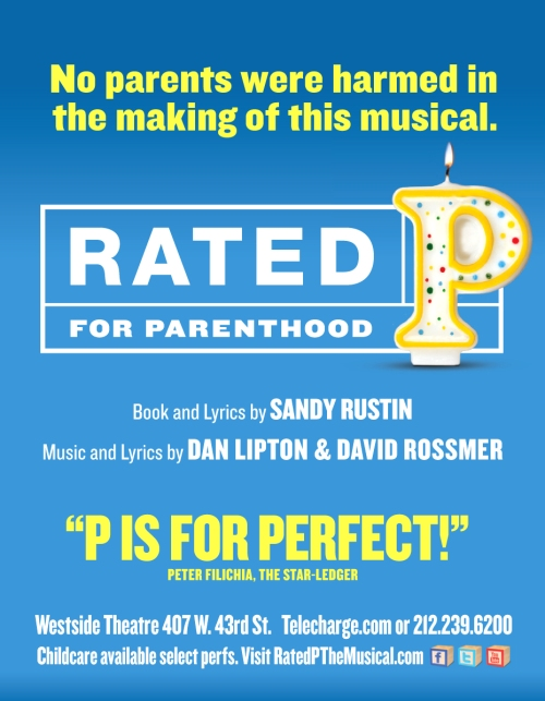 Rated P for Parenthood poster on carpoolcandy.com