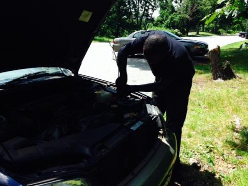 Car breaks down on carpoolcandy.com