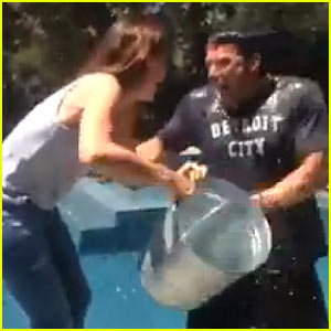 ben affleck jennifer garner #ALSIceBucketChallenge on carpoolcandy.com