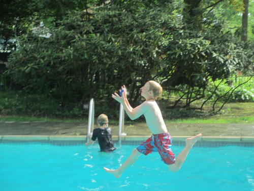 Pool fun Summer 2014 on carpoolcandy.com