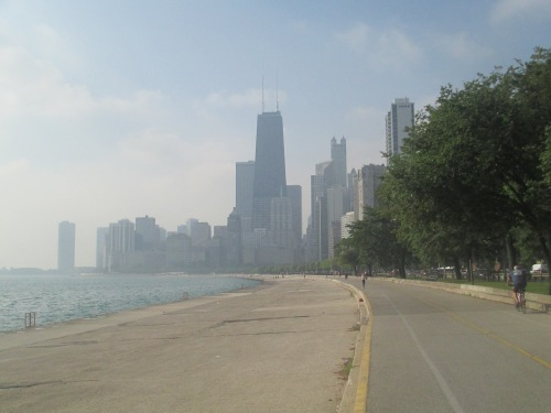 Chicago lakefront on Carpoolcandy.com