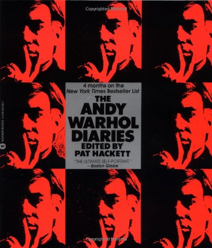 andy warhol diaries cover on carpoolcandy.com
