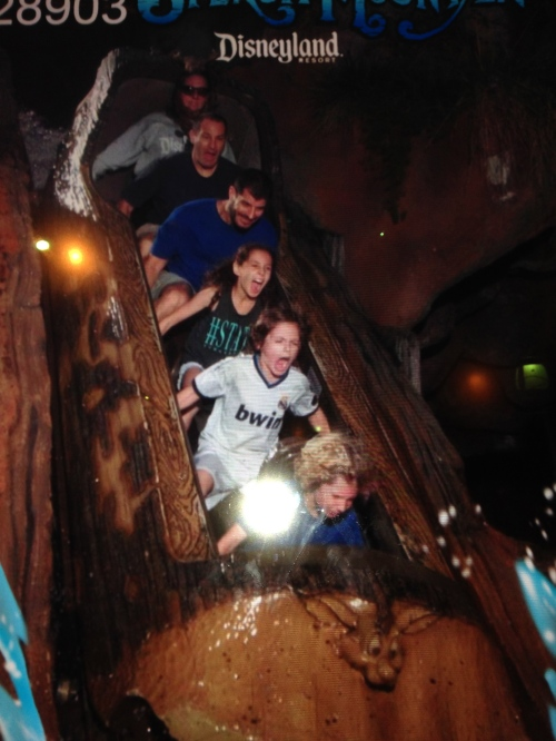 Splash Mountain drop at Disneyland on carpoolcandy.com
