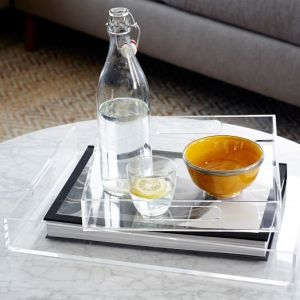 acrylic tray west elm on carpoolcandy.com