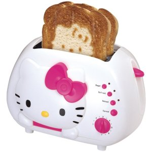 Hello Kitty toaster on carpoolcandy.com