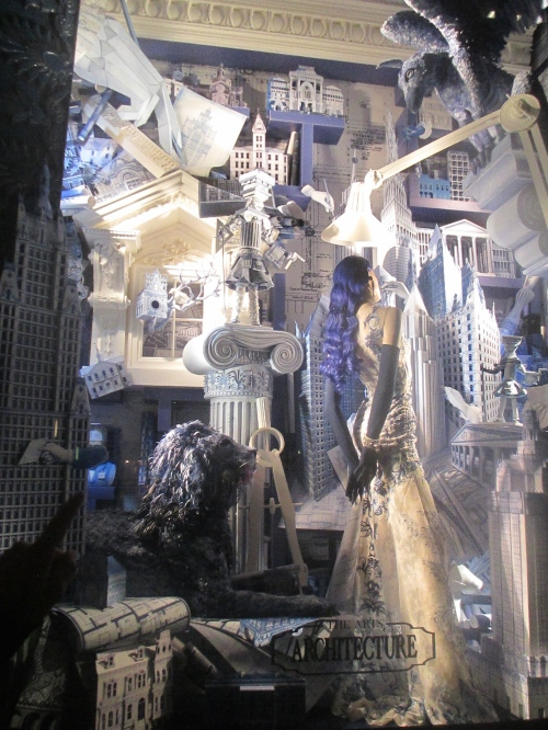 Bergdorf Goodman holiday windows 2014 on carpoolcandy.com