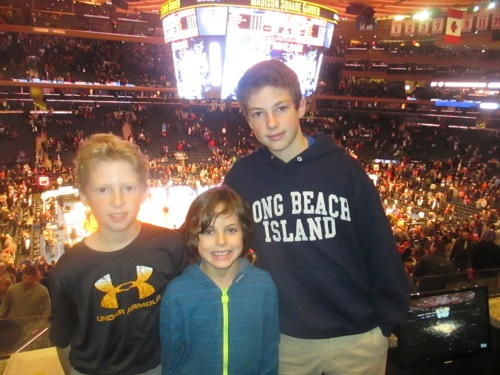 Knicks at MSG on carpoolcandy.com