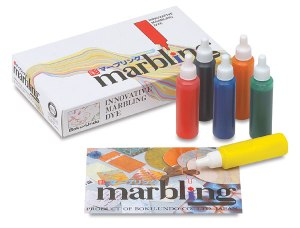 Japanese marbling kit on carpoolcandy.com