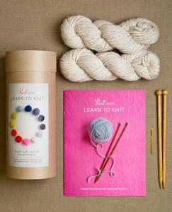 Purl Soho kniting starter kit on carpoolcandy.com